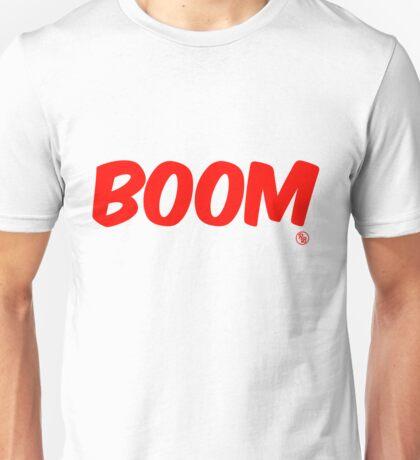 Boom (red) Unisex T-Shirt