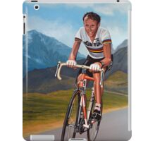 Joop Zoetemelk Painting iPad Case/Skin