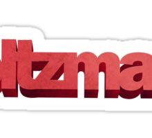 Holtzmann Sticker
