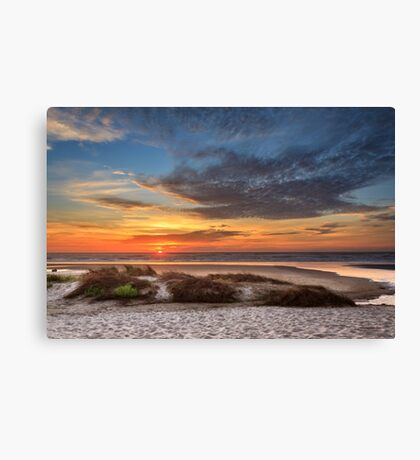 Sunset In Florence Canvas Print