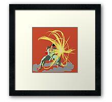 Ryu's Parry Framed Print