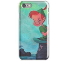 Story time with Peter Pan iPhone Case/Skin