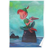 Story time with Peter Pan Poster