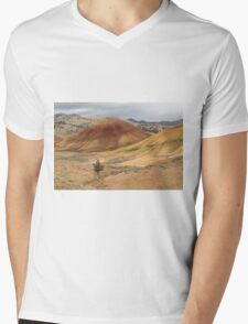 A Lone Tree In The Hills ©  Mens V-Neck T-Shirt