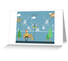 Netherlands 578 Greeting Card