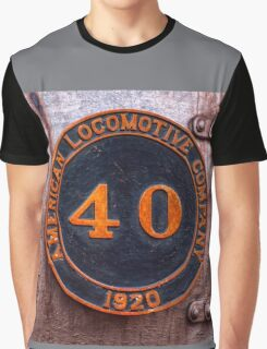 Old Number 40 Graphic T-Shirt