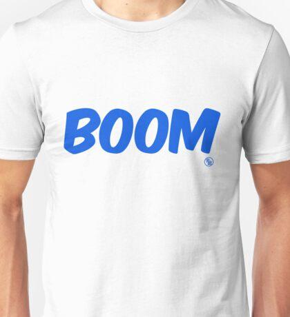 Boom (blue) Unisex T-Shirt