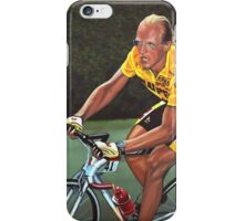 Laurent Fignon Painting iPhone Case/Skin