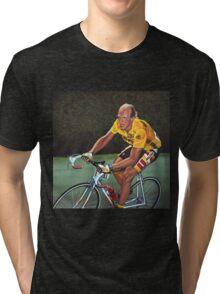 Laurent Fignon Painting Tri-blend T-Shirt