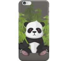 High panda iPhone Case/Skin