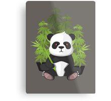 High panda Metal Print