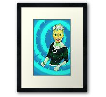 danny phantom Framed Print