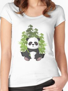 High panda Women's Fitted Scoop T-Shirt
