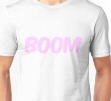 Boom (pink) Unisex T-Shirt