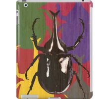 Friendly Neighborhood Fighting Beetle iPad Case/Skin