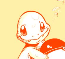Charmander Pokemon with Pokeball Sticker