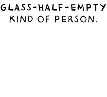 Glass Half Empty by Heidi Cox
