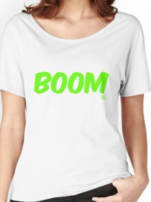 Boom (green) Women's Relaxed Fit T-Shirt