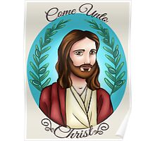 Come Unto Christ Poster