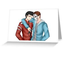 Vanoss Gaming and H20 Delirious Greeting Card