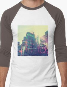 Urban Graffiti Men's Baseball ¾ T-Shirt