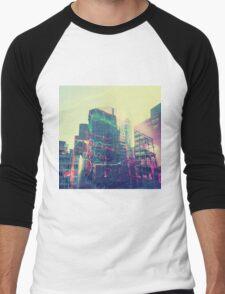 Urban Graffiti Men's Baseball ¾ T-Shirt