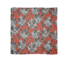 turtle party coral red Scarf