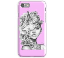 Fleeting Thoughts Pink iPhone Case/Skin