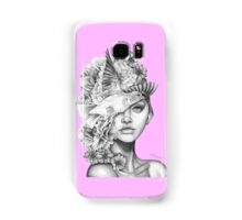 Fleeting Thoughts Pink Samsung Galaxy Case/Skin