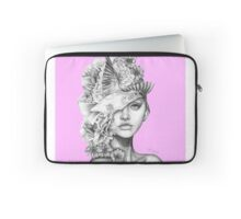 Fleeting Thoughts Pink Laptop Sleeve