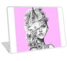 Fleeting Thoughts Pink Laptop Skin