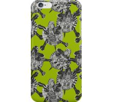turtle party lime iPhone Case/Skin