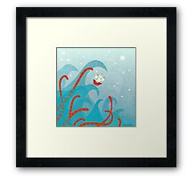 A Bad Day For Sailors Framed Print
