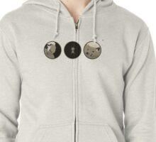 The Keyhole Zipped Hoodie