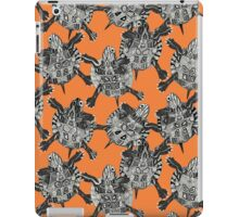 turtle party persimmon iPad Case/Skin