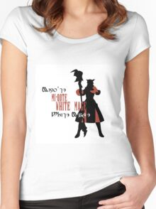Miqo'te White Mage (Female) Women's Fitted Scoop T-Shirt