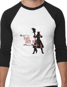 Miqo'te White Mage (Female) Men's Baseball ¾ T-Shirt