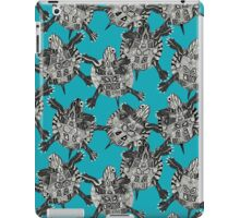 turtle party surf blue iPad Case/Skin