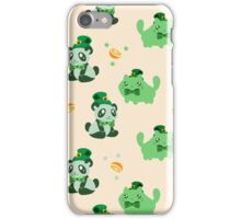 Lucky Citrus Panda and Kitty Pattern iPhone Case/Skin