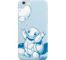 Squirtle Pokemon with Pokeball iPhone Case/Skin