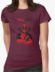 Dead Pool Womens Fitted T-Shirt