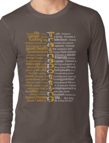 Trainspotting 2 Long Sleeve T-Shirt