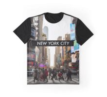 New York Sunset Graphic T-Shirt