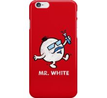 Mr. White iPhone Case/Skin