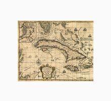Vintage Map of Cuba (1762) Unisex T-Shirt