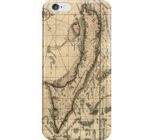 Vintage Map of Cuba (1762) iPhone Case/Skin