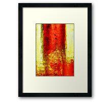 Arcadia flame Framed Print