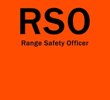 RSO - Range Safety Officer Unisex T-Shirt