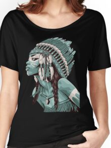 Native Americans  Women's Relaxed Fit T-Shirt