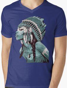 Native Americans  Mens V-Neck T-Shirt